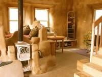 Inside of Cob Home