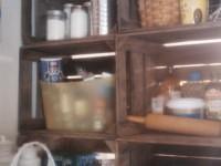 Vegetable Crate Shelves