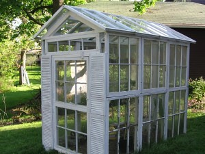 Greenhouse from Recycled Materials