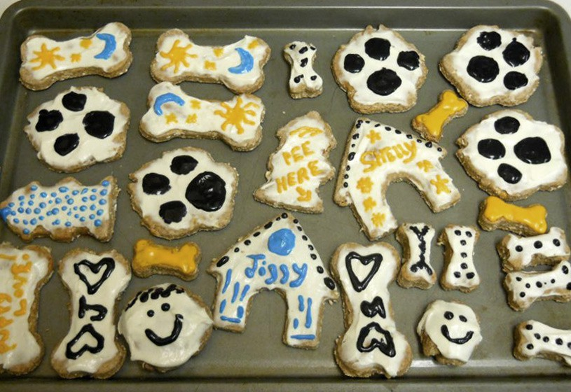 Making Dog Treats with Cream Cheese